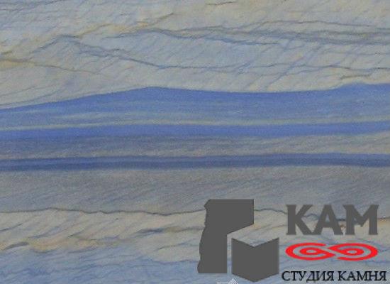 Камень кварцит Azul Macauba