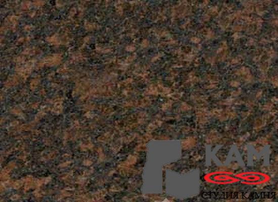 Натуральный камень гранит Дымовский (коричневый)