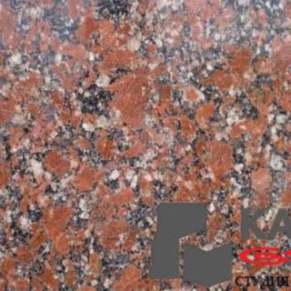 Натуральный камень гранит Капустинский (красный)