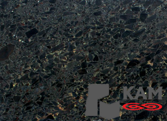 Натуральный камень гранит Black Beauty (черный)