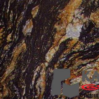 Натуральный камень гранит Black Magma (черный)