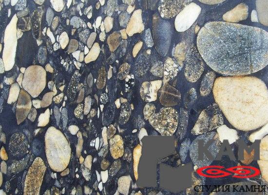 Натуральный камень гранит Gold Marinace (серый)