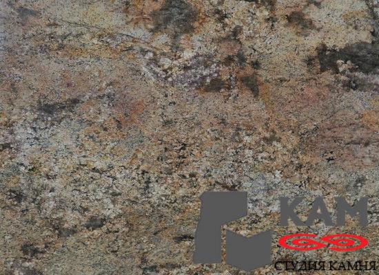 Натуральный камень гранит Golden Fantasy (коричневый)