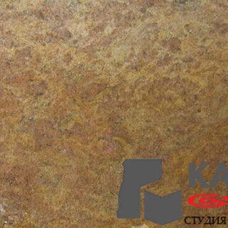 Натуральный камень гранит Golden Rivera (коричневый)