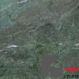 Натуральный камень гранит Verde Fantastico (зеленый)