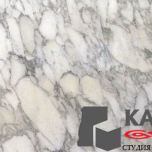 Натуральный камень мрамор Arabescato (белый)