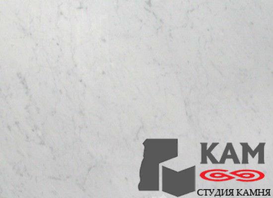 Натуральный камень мрамор Bianco Carrara (белый)