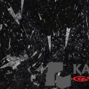 Натуральный камень мрамор Black Fossil (черный)