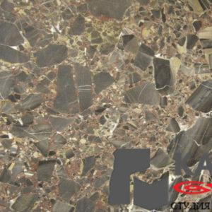 Натуральный камень мрамор Breccia Antica (коричневый)