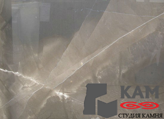 Натуральный камень мрамор Bronzo Amani (серый)