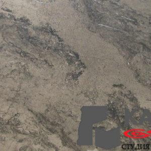 Натуральный камень мрамор Brown Sea (серый)