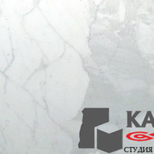 Натуральный камень мрамор Calacatta (белый)