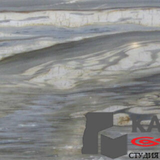 Натуральный камень мрамор Calacatta Cielo (серый)