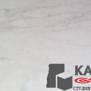 Натуральный камень мрамор Calacatta Regina (белый)