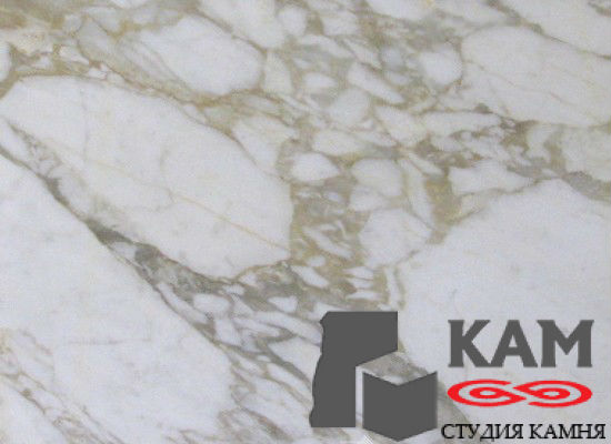 Натуральный камень мрамор Calacatta Vagli (белый)