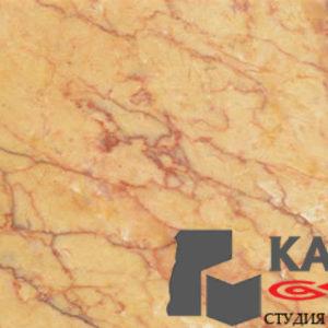 Натуральный камень мрамор Crema Valencia (бежевый)
