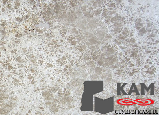 Натуральный камень мрамор Emperador Crystal Light (белый)