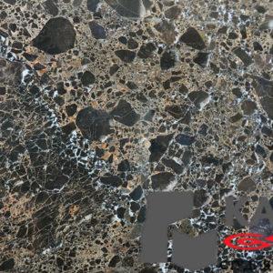 Натуральный камень мрамор Emperador Gold (черный)