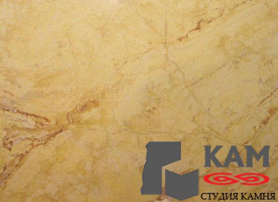 Натуральный камень мрамор Fantast Gold (желтый)