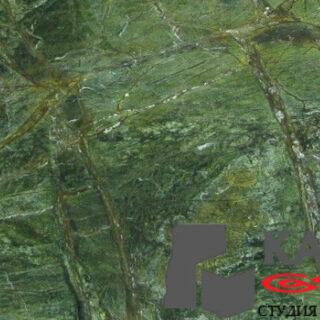 Натуральный камень мрамор Forest Green (зеленый)