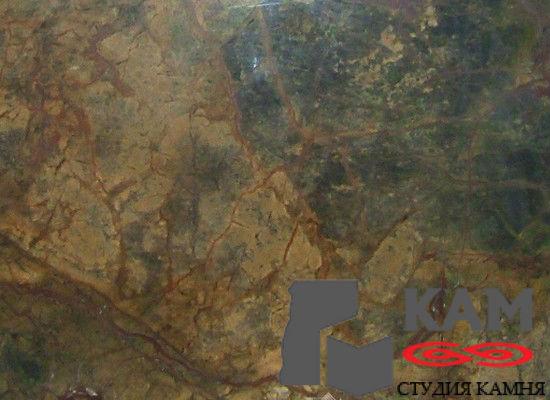 Натуральный камень мрамор Forest Multicolor (серый)