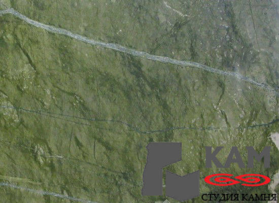 Натуральный камень мрамор Ming Green (зеленый)