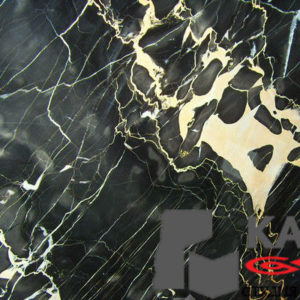 Натуральный камень мрамор Nero Portoro (черный)