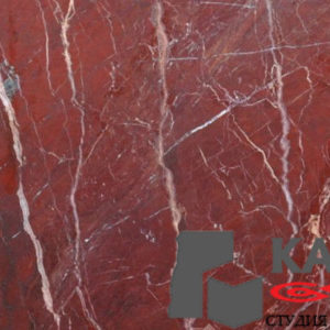 Натуральный камень мрамор Red Jasper (красный)
