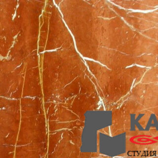 Натуральный камень мрамор Rojo Alicante (оранжевый)