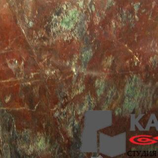 Натуральный камень мрамор Rosso Canada
