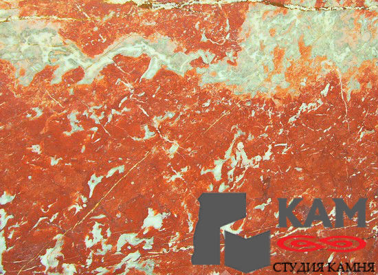Натуральный камень мрамор Rosso Francia