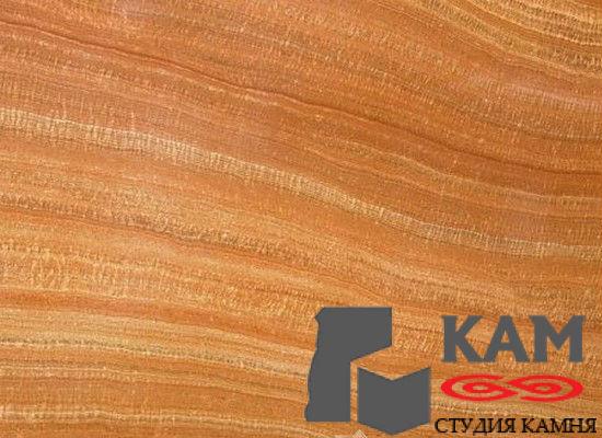 Натуральный камень мрамор Serpenggiante (оранжевый)