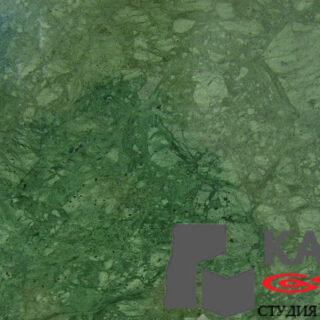 Натуральный камень мрамор Verde India (зеленый)