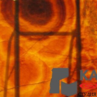 Натуральный природный камень оникс Orange Nuvolato