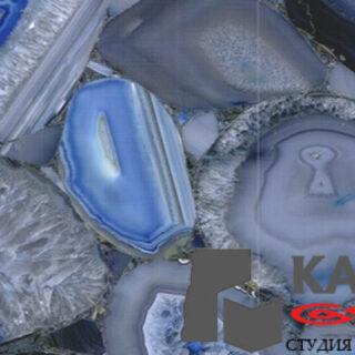 Натуральный камень Agate Blue