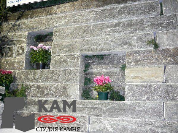 Фасад из гранита