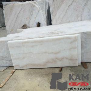 Кальцитовый тип Китай Гуанси белый мрамор