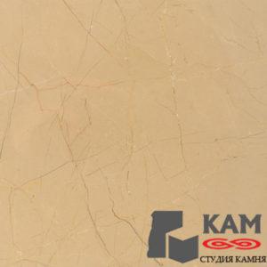 Светло-коричневый натуральный травертиновый мраморный пол