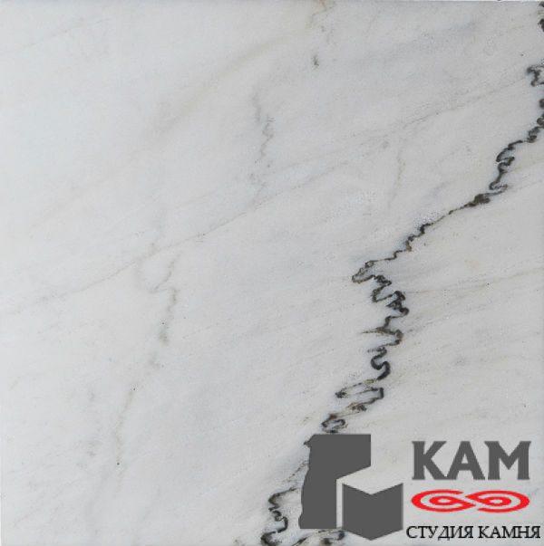 Черно-белый натуральный китайский мрамор